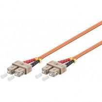 Cablu Profesional Optic cu Fibra Sc-duplex - Sc-duplex 0.5m