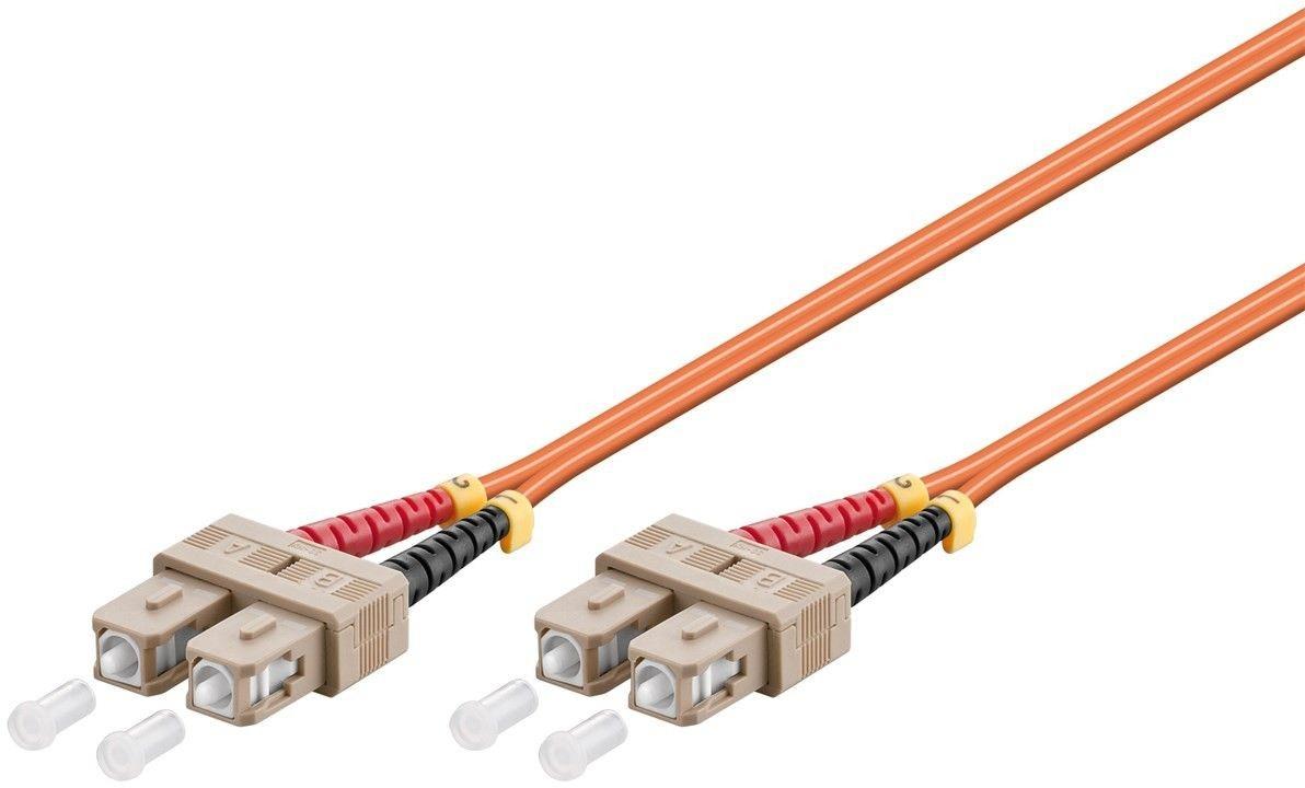 Cablu Profesional Optic cu Fibra Sc-duplex – Sc-duplex 0.5m