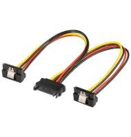 Cablu Alimentare Sata - 2x Sata 90a°