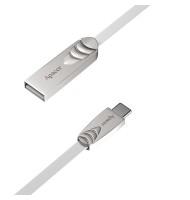 Cablu USB-C Tata - USB 2.0 A Tata 1.0m Argintiu Dc112, Apacer