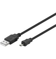 Cablu USB Tata - MiniUSB 8pini 1.8m Goobay