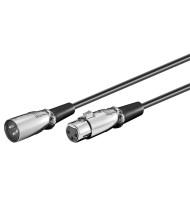 Cablu XLR 3p Tata - XLR 3p Mama 6m