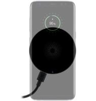 Incarcator Fara Fir Wireless (5 W), Negru- pentru Telefoane Inteligente si Dispozitive Standard Qi