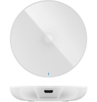 Incarcator Fara Fir Wireless (5 W), Alb- pentru Telefoane Inteligente si Dispozitive Standard Qi