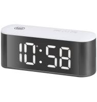 Ceas de Masa cu Alarma, Termometru Ec883 Alb Trevi