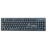 Kit Tastatura+mouse Wireless Well Cw101bk...