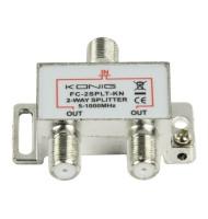 Distribuitor Semnal TV 2 Cai ,5-1000 Mhz, Konig