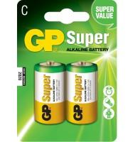 Baterie Alcalina Super GP R14 (c) 2 Buc/blister