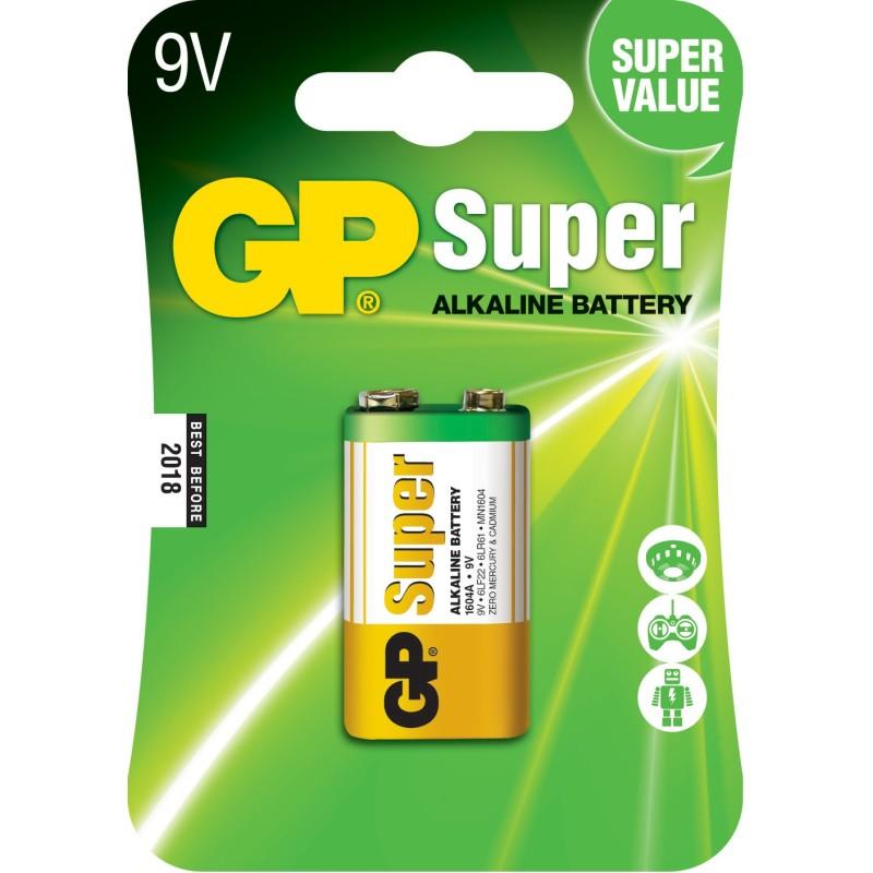 Baterie Alcalina Super GP 9v 1 Buc/blister