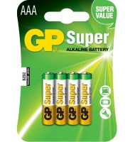 Baterie Alcalina Super GP R3 (aaa) 4 Buc/blister
