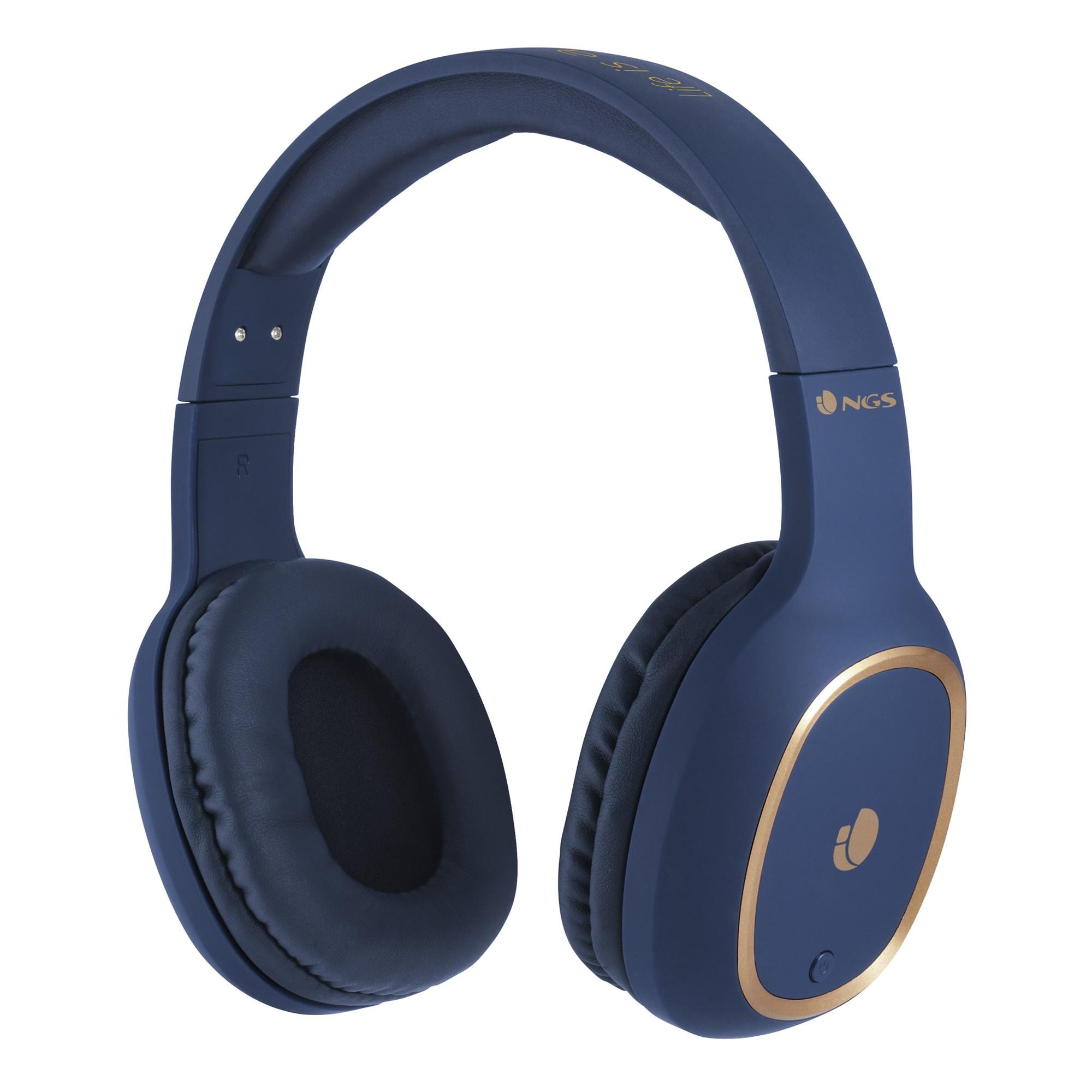 Casti Bluetooth Artica Pri Albastre