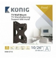 """Wall Mount Fixed 10-26a"""" / 25-66 Cm - 35 Kg / 77 Lbs"""