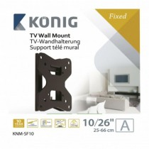 "Wall Mount Fixed 10-26a"" / 25-66 Cm - 35 Kg / 77 Lbs"