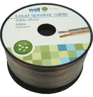 Cablu Difuzor Transparent 2x0.35mmp, 100m,...