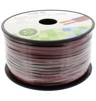 Cablu Difuzor Rosu/negru 2x0.50mmp, 100m, Well