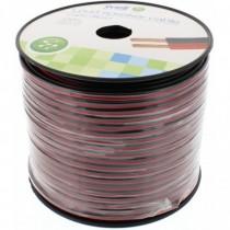 Cablu Difuzor Rosu/negru 2x1.50mmp, 100m, Well