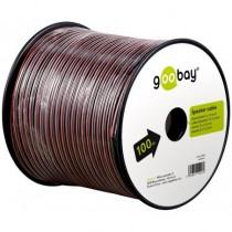 Cablu Difuzor, Rola 100m, Rosu/negru, 2 X 1,50 mma2