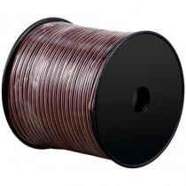 Cablu Difuzor Rosu/negru 2x4.00, 100m Goobay