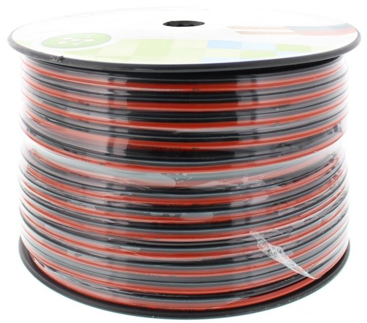 Cablu Difuzor Rosu/negru 2×4.00mmp, 100m, Well