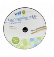Cablu Difuzor Transparent 2x4.00mmp, 100m,...