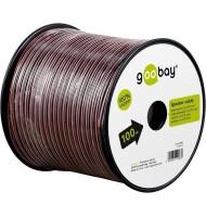 Cablu Difuzor Rosu/negru 2x0.75, Cupru 100m Pe Tambur