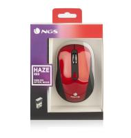 Mouse Optic USB 800/1600dpi Rosu NGS