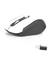 Mouse Wireless Optic USB 800/1600dpi Alb NGS