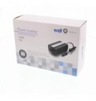 Invertor de Tensiune 12v -  220V, USB, 150W, Well