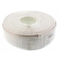 Cablu Coaxial Rg6, 75r,fire Otel Cuprat, Ecranat cu Folie Al+al&mg 48x0.12, Well