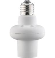Dulie E27 cu Senzor de Lumina si Microunde, Alb, Goobay