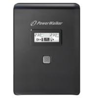 UPS Line Interactiv 1500VA/900W, Iesire 4xshuko, Baterie 2x12v/9ah Powerwalker