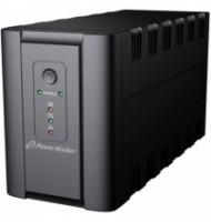 UPS Line Interactiv 2000VA/1200W, Iesire 4xshuko, Baterie 2x12v/9ah Powerwalker
