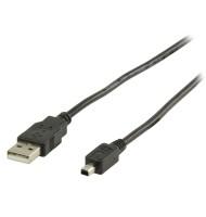 Cablu USB 2.0 A Tata - USB Mitsumi 4p Tata 2m, Valueline