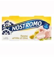Nostromo - Ton in Ulei Masline 2x160g