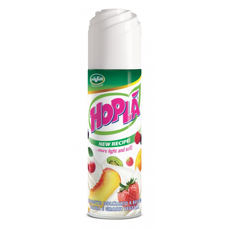 Hopla - Produs Indulcit Pe Baza de Grasimi Vegetale Nehidrogenate Spray 250g