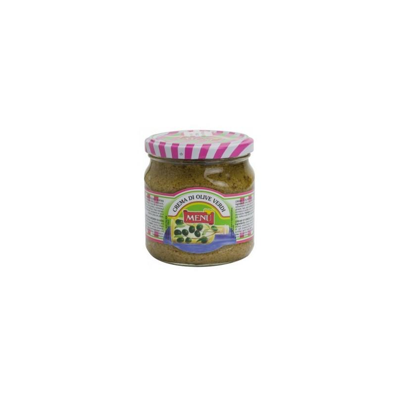 Menu - Crema Di Olive Verdi (crema de Masline Verzi) 390g