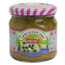 Crema de Masline Verzi Menu 390 g