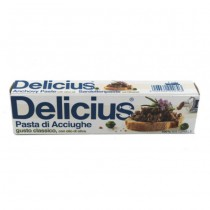 Delicius - Pasta de Ansoa in Ulei de Masline 60g Tub