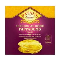 Lipie Indiana Pappadums Patak's 100g