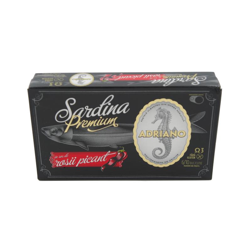 Sardine Premium in Sos Picant Adriano 90 gr