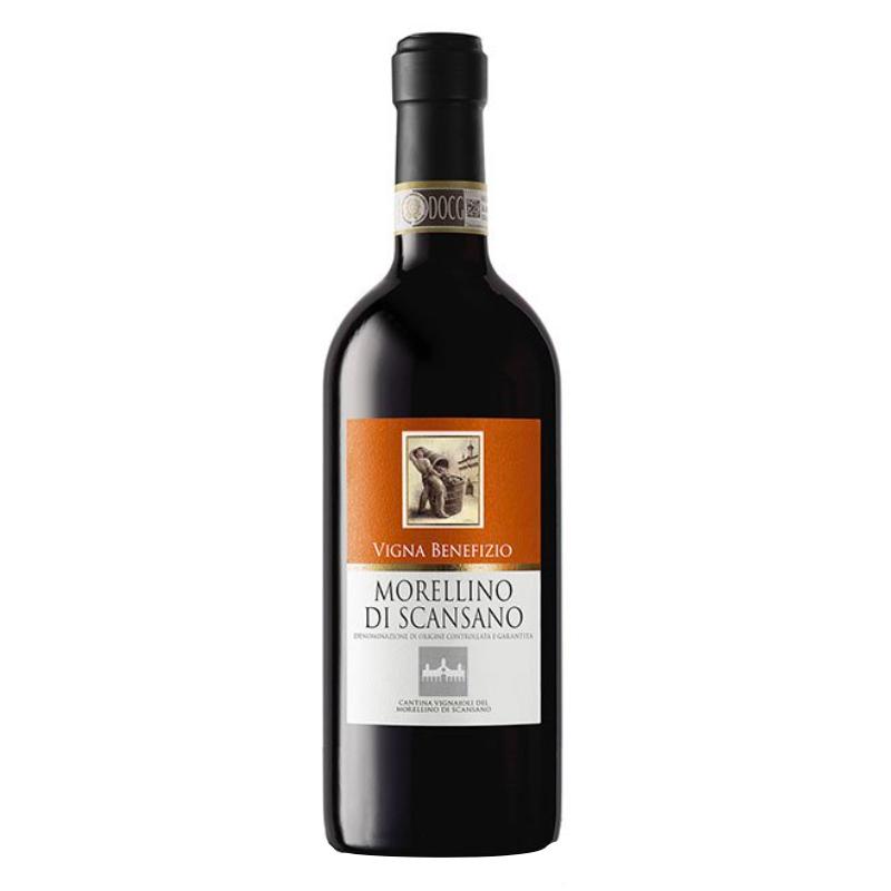 Vin Rosu Vigna Benefizio Morelino Di Scasano DOCG Vignaioli 750 ml