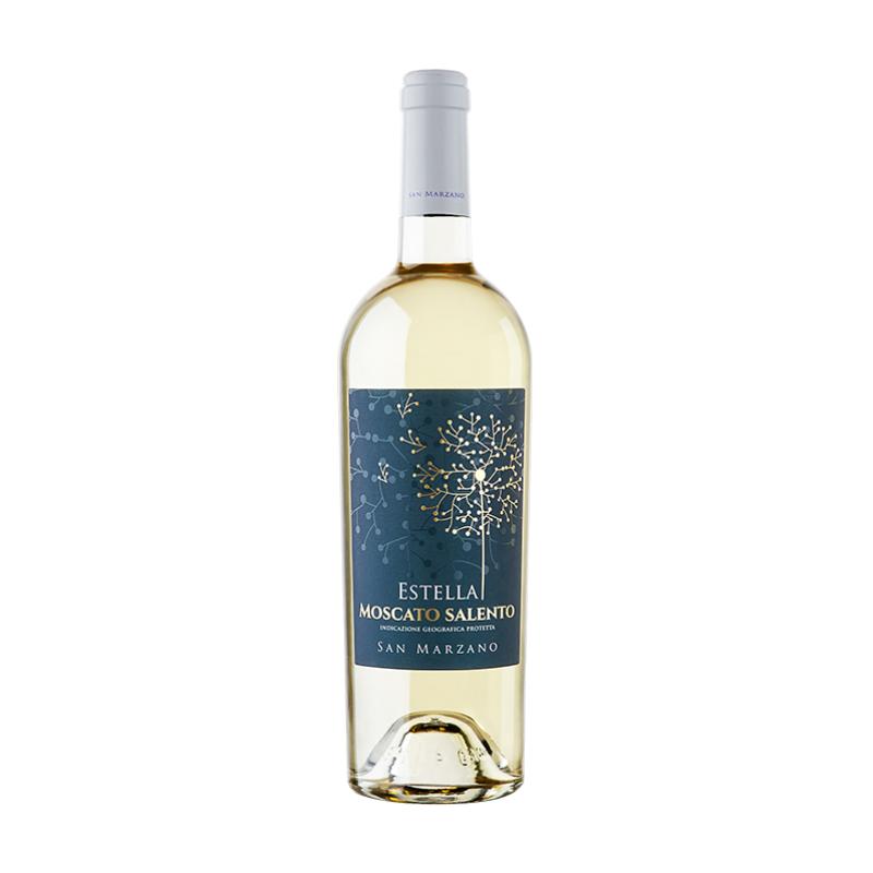 Vin Alb Estella Moscato Salento IGP San Marzano 12,5% Alcool 750 ml