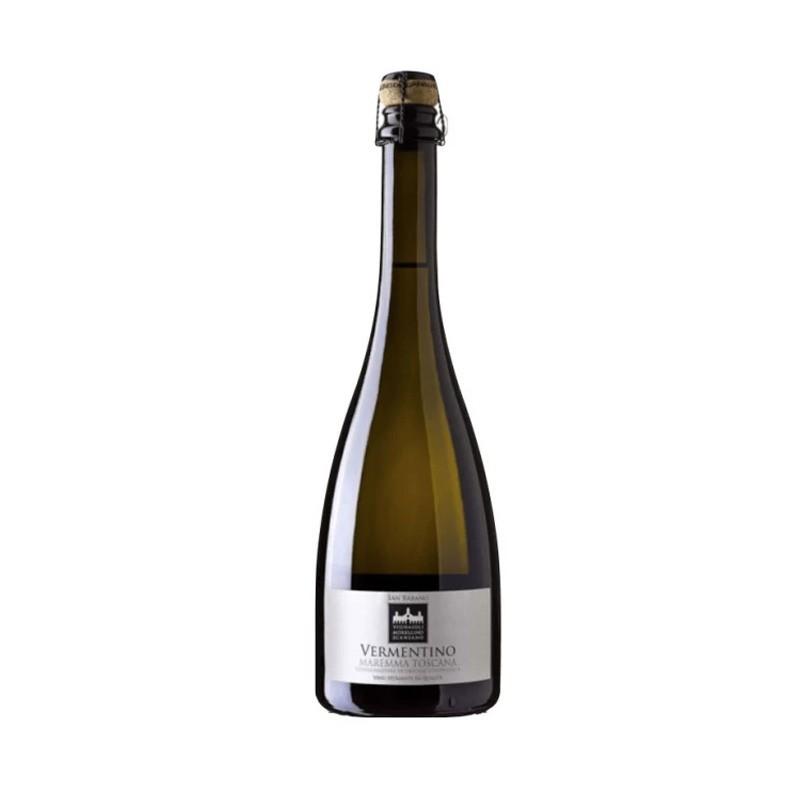 San Rabano - Vin Spumante Alb Brut Vermentino Maremma Toscana Doc 750 ml