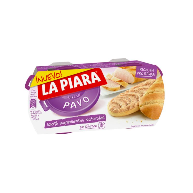 Pate de Curcan La Piara, 2 x 75 g