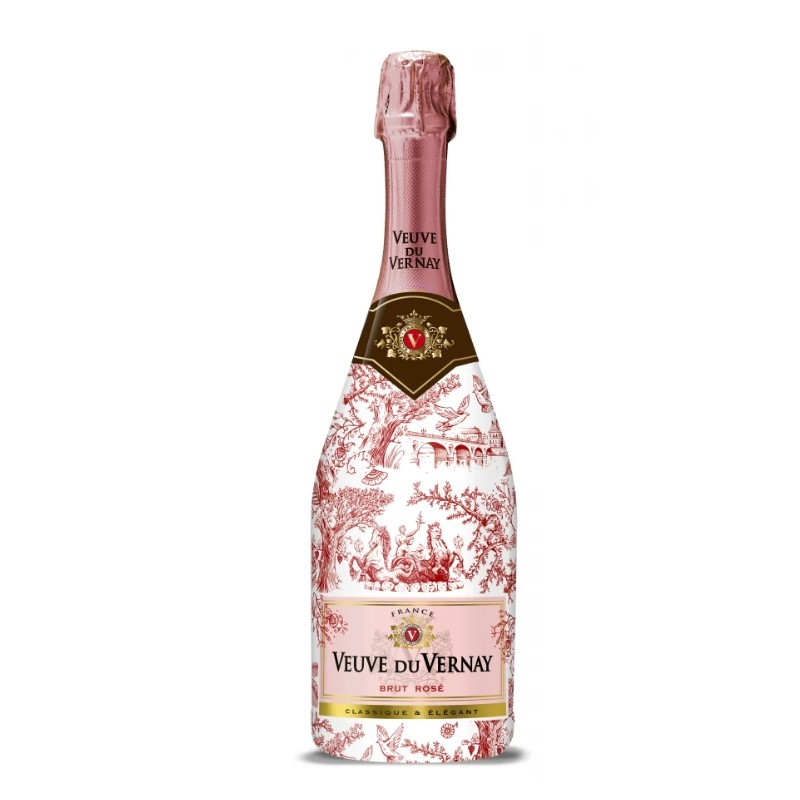 Vin Roze Brut Editie Limitata Veuve Du Vernay Franta 0.75 l