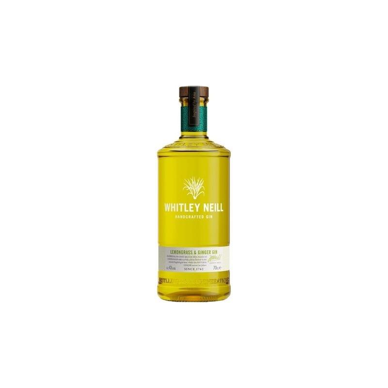 Gin Lemongrass & Ginger Whitley Neill, Alcool 43%, 0.7L