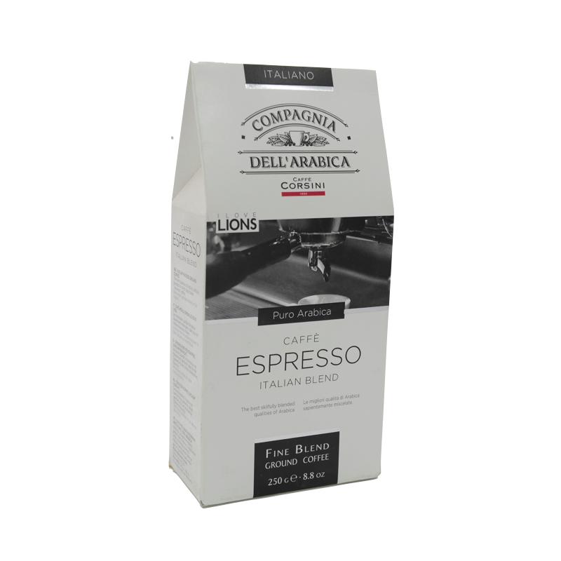 Cafea Macinata Arabica Espresso, Corsini Compagnia Dellarabica 250g