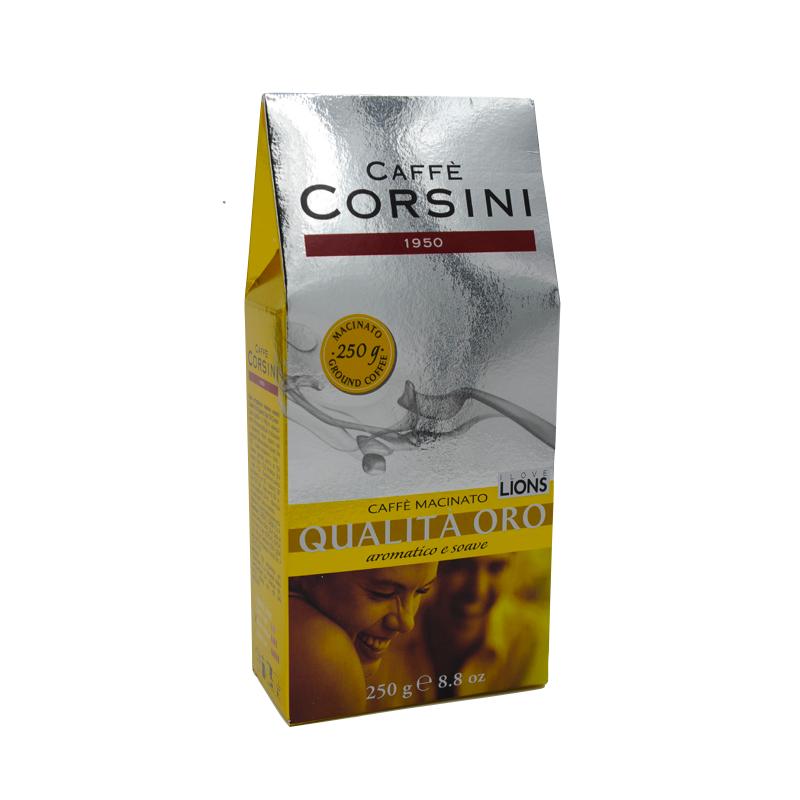 Caffe Corsini - Qualita Oro Cafea Macinata 250g