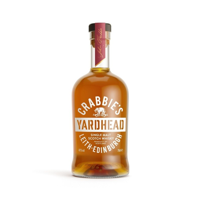 Whiskey Yardhead Crabbies, Alcool 40%, 0.7L