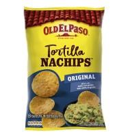 Tortilla Nachips, Chipsuri fara Gluten, Original Old El Paso 185g